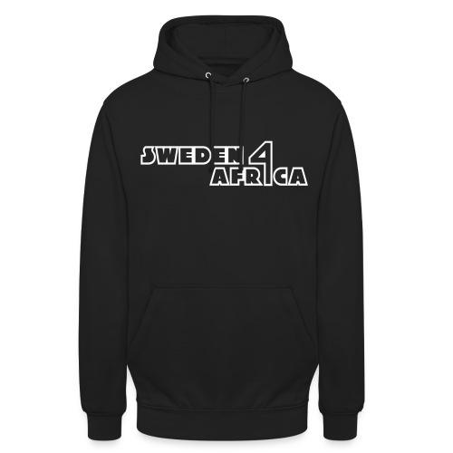 sweden 4 africa text logo v2 white - Luvtröja unisex