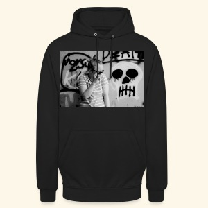 "Black humor with a skull - Huppari ""unisex"""