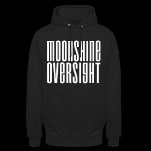 Moonshine Oversight blanc - Sweat-shirt à capuche unisexe