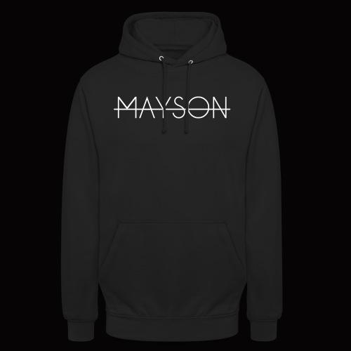 Mayson Schriftzug weiß - Unisex Hoodie