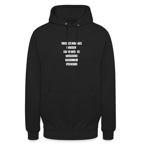 Vêtements pêche - Sweat-shirt à capuche unisexe