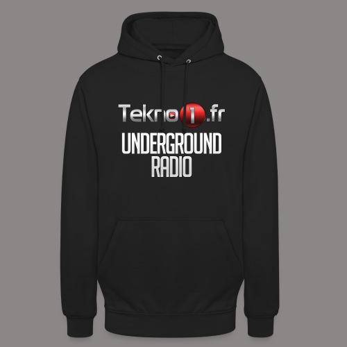 logo tekno1 2000x2000 - Sweat-shirt à capuche unisexe