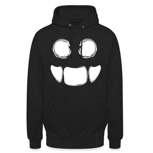 MonsterSmile - Sweat-shirt à capuche unisexe