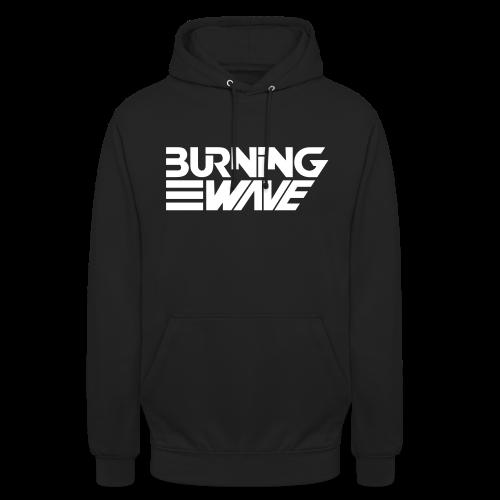 Burning Wave Block - Sweat-shirt à capuche unisexe