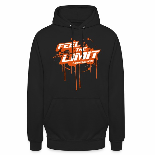 Feel the Limit - Limithunters Orange - Unisex Hoodie