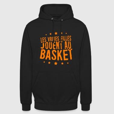 T-shirt Basket-ball pour Filles - Sweat-shirt à capuche unisexe