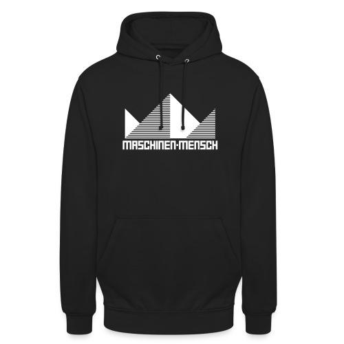 Maschinen-Mensch Logo black - Unisex Hoodie