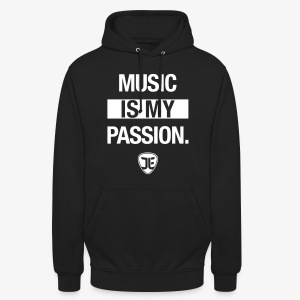 MUSIC IS MY PASSION. – Jan-Luca Ernst & Band - Unisex Hoodie