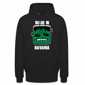 Fonster weiß made in Bavaria - Unisex Hoodie