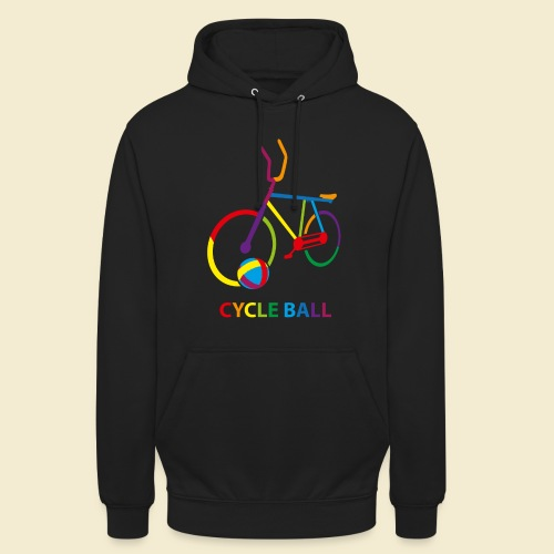 Radball | Cycle Ball Rainbow - Unisex Hoodie