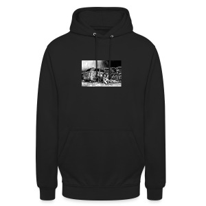 Scarlett Bush hiding from Zombies in Virginia - Unisex Hoodie