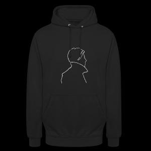 David Bowie Low (white) - Unisex Hoodie