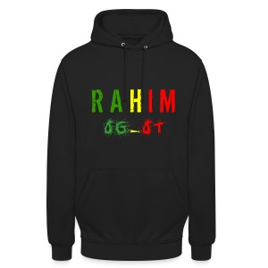 t-shirt design Rahim - Sweat-shirt à capuche unisexe