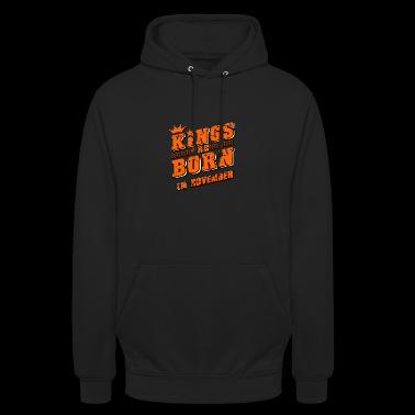 Kings november verjaardagscadeau - Hoodie unisex