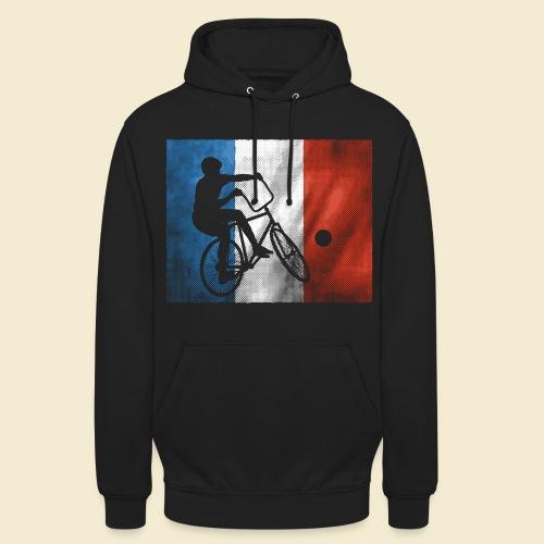 Radball | Flagge Frankreich - Unisex Hoodie