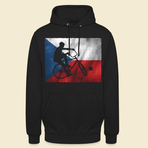 Radball   Flagge Tschechien - Unisex Hoodie