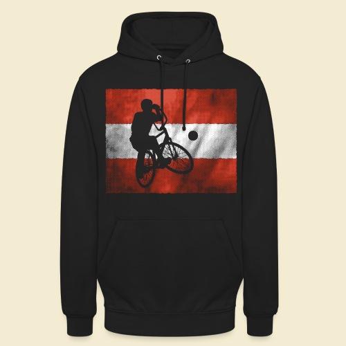 Radball | Flagge Österreich - Unisex Hoodie