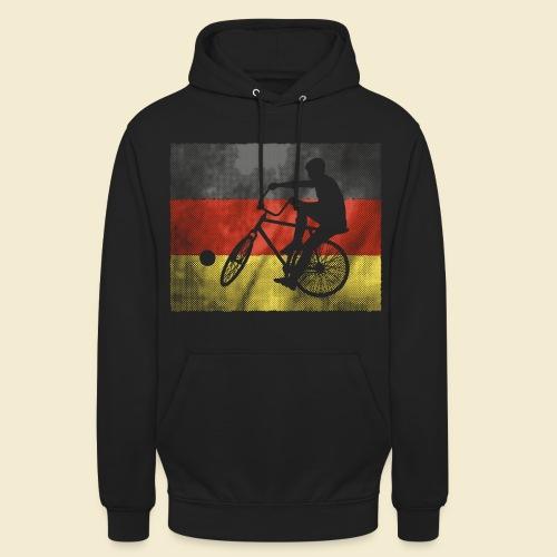 Radball | Flagge Deutschland - Unisex Hoodie