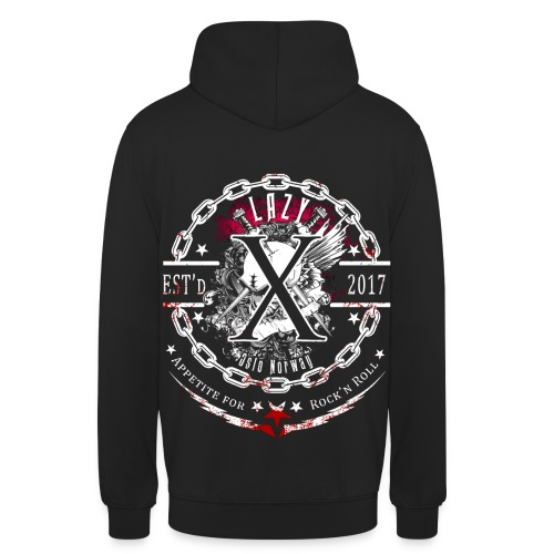 Lazy X - Appetite for Rock'n Roll - Unisex Hoodie