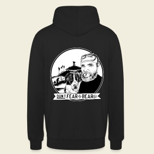 Don't fear the BEAR(d) - Unisex Hoodie