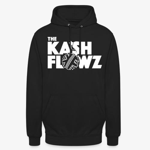 The Kash Flowz Official Bomb White - Sweat-shirt à capuche unisexe