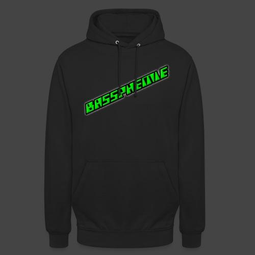 Bassphemie - Neongrün II - Unisex Hoodie