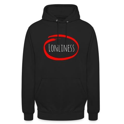 Lonliness-Białynapis - Bluza z kapturem typu unisex