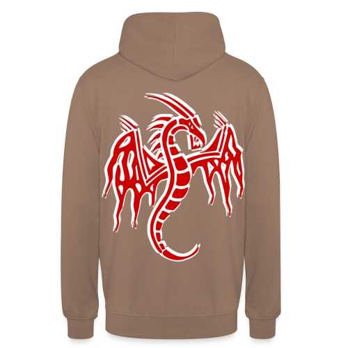 dragon chinois - Sweat-shirt à capuche unisexe