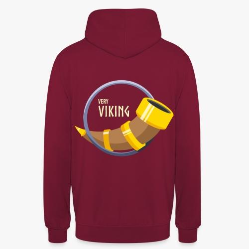 Very Viking Horn - Hættetrøje unisex