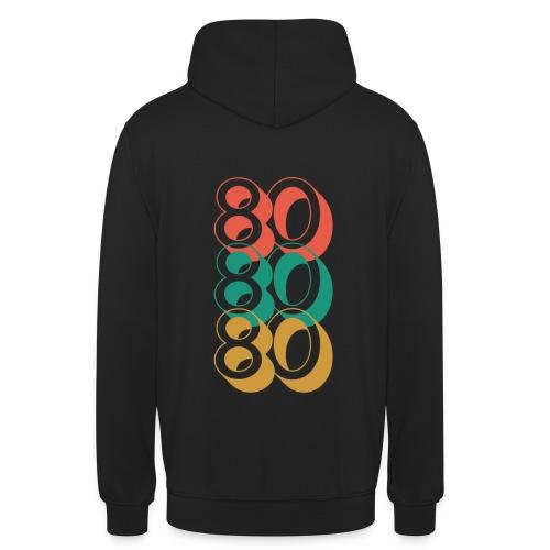 80 80 80 - Sudadera con capucha unisex