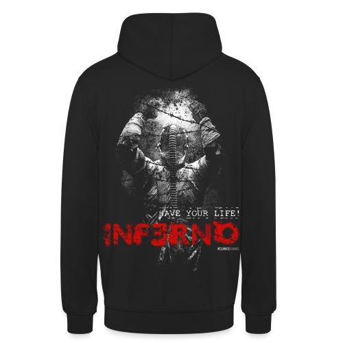 INFERNO | SAVE YOUR LIFE - Unisex Hoodie