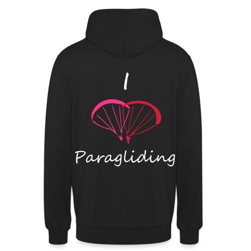I Love Paragliding V2 - Unisex Hoodie