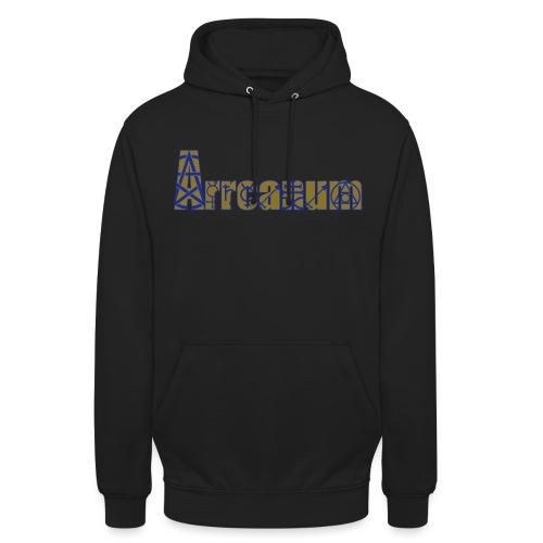 Arrcanum Logo Schrift gra - Unisex Hoodie