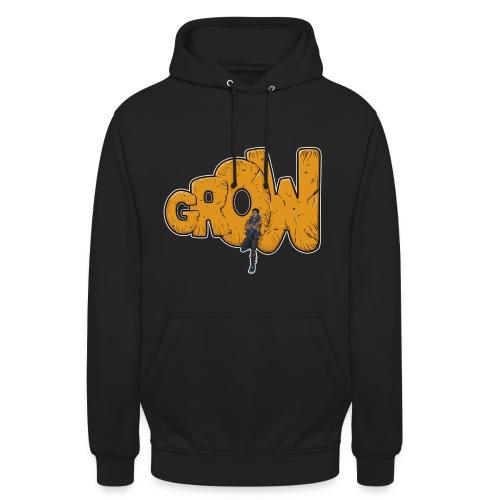Final grow shirt black - Unisex Hoodie