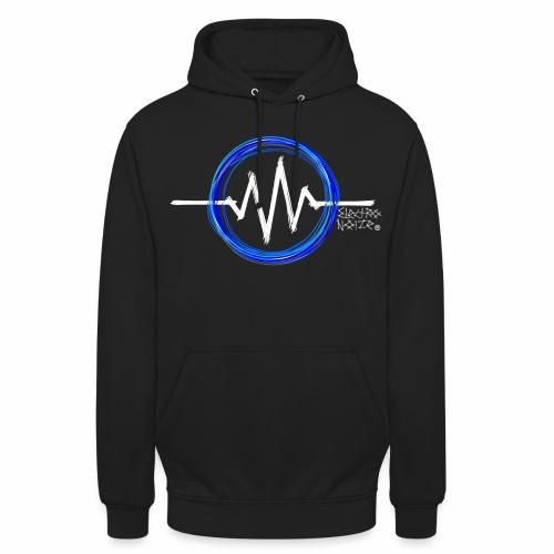 ElectroNoize Logo BLUE PX - Unisex Hoodie