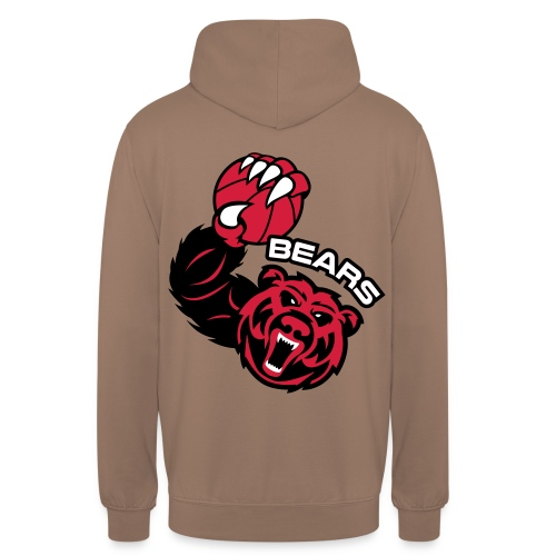 Bears Basketball - Sweat-shirt à capuche unisexe