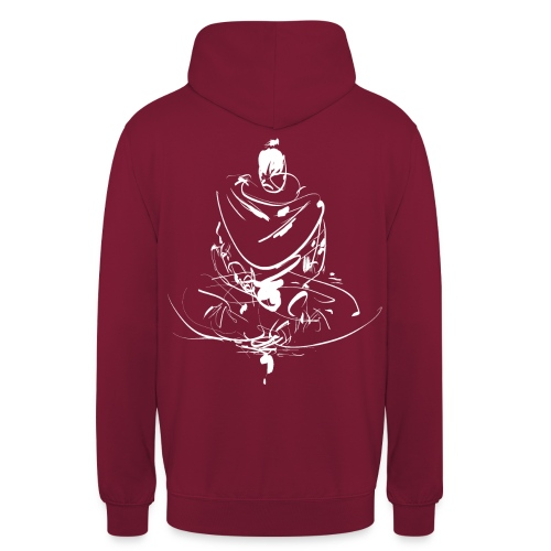 Iaido Samurai Zen Meditation - Unisex Hoodie
