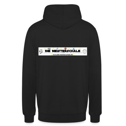 Die Meisterschale Logo Banner Werbung jpg - Unisex Hoodie