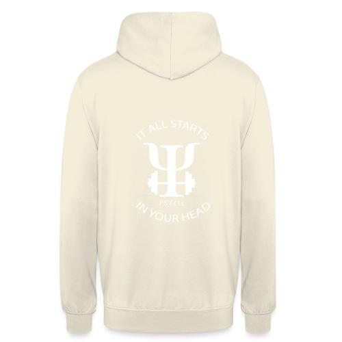 PSYfit Logo Tee - Unisex Hoodie