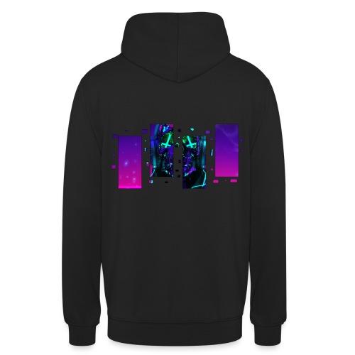 CyberDemate - Sweat-shirt à capuche unisexe