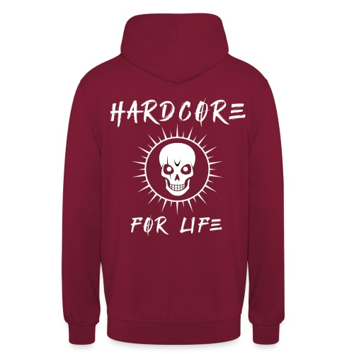 H4rdcore For Life - Unisex Hoodie