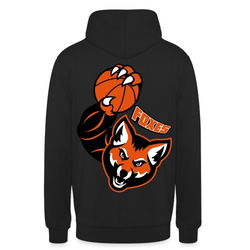 Foxes basketball - Sweat-shirt à capuche unisexe
