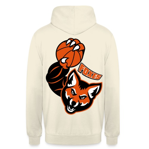 Foxes basketball - Sweat-shirt à capuche unisexe