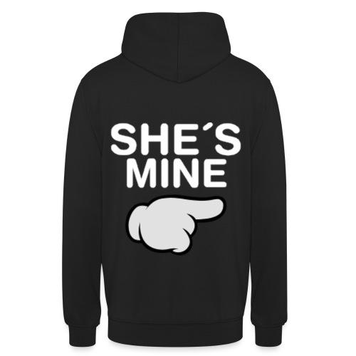 She s Mine Comic Hand png - Unisex Hoodie
