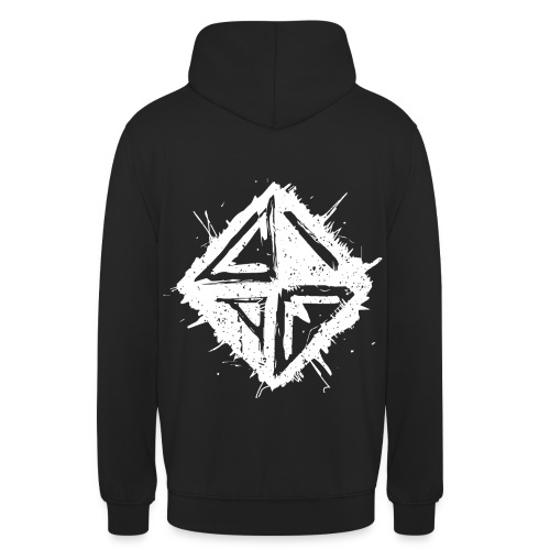 Caught In A Mirror - Back & Front - Unisex Hoodie