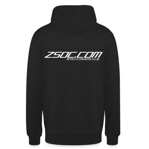 ZSOC WHITE - Unisex Hoodie