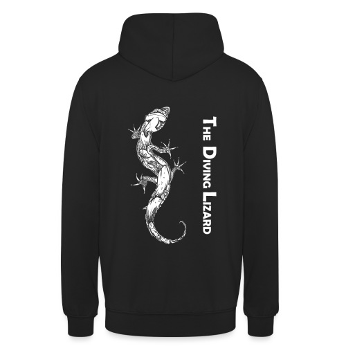Logo The Diving Lizard B - Sweat-shirt à capuche unisexe
