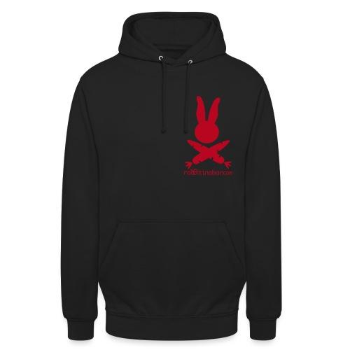 LogoKurvenHaseSchrift - Unisex Hoodie