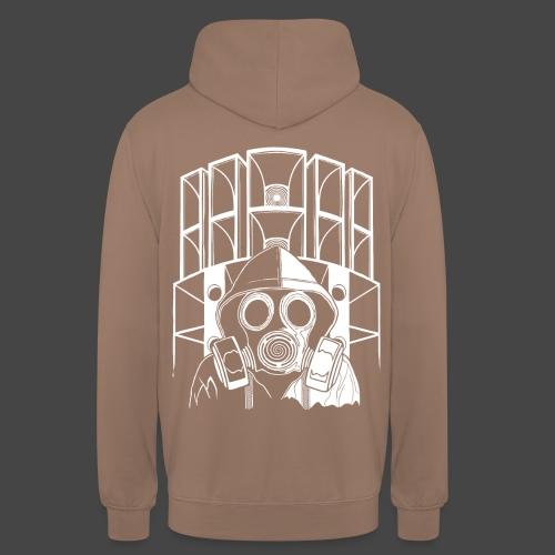 tekno 23 masque à gaz - Sweat-shirt à capuche unisexe