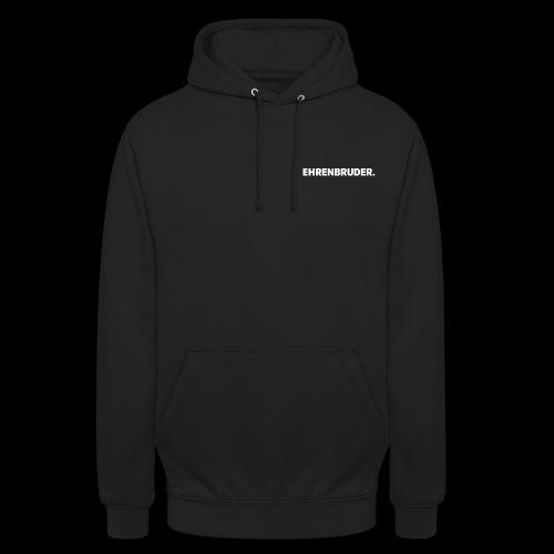 EHRENBRUDER-White - Unisex Hoodie